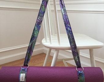 Yoga Mat Strap - Yoga Mat Carrier - Yoga Mat Sling - Yoga Sling - Homemade Yoga Mat Strap