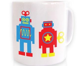 Wind Up Robots mug