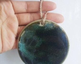 Handmade ceramic ornament