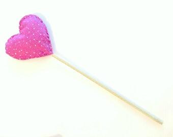 Magic Wand- Purple/pink and Gold