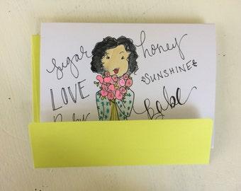 Valentine's Day Cards// Lover nicknames//Handmade cards// Valentine's day