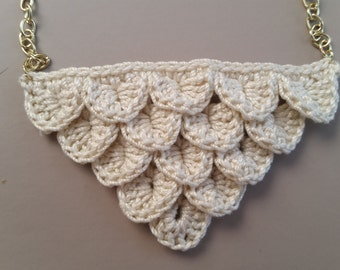 Crocodile Stitch Necklace