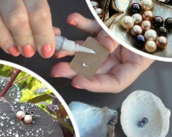 Pearl Earring DIY Earring Making Kit, Disney Pick a Pearl Earring Setting, Pearl Earring Studs, Pearl Cage, Open an Oyster Stud Earring Kit