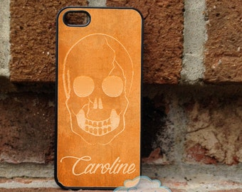 Halloween Personalized iPhone Case, - iPhone 4, iPhone 4s, iPhone 5, Samsung Galaxy S3, Galaxy s4  -  074