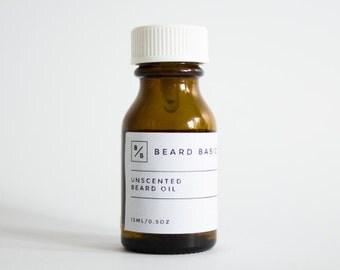 Unscented Beard Oil 30 mL
