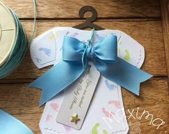 Onesie baby shower, Invitations cards