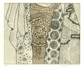 Etching with Chine-Collé