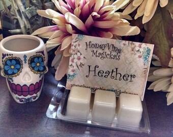 Heather Soy Wax Clamshell Tarts Melts