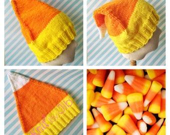 Candy Corn Hat Pattern