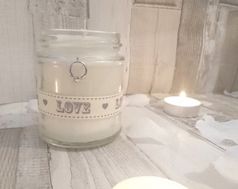 Engagement/Wedding Scented Candle