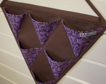 Hanging organizer, wall fabric pocket storage for accessories or toys