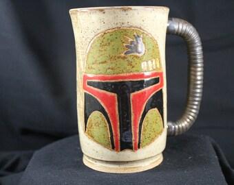 Star Wars Boba Fett handmade Mug #541