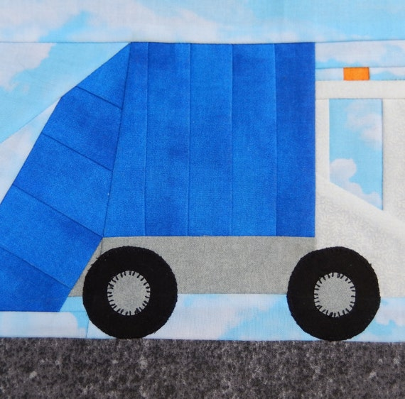 Garbage Truck Or Trash Truck Or Dustbin Lorry Foundation Paper