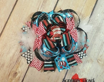 Dr Seuss inspired Boutique Bow