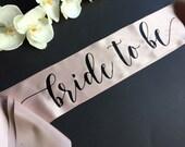 Bride to Be Sash, Bachelo...