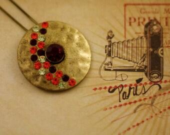 Hawk Eye Charm Necklace