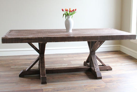 Rustic Dining Room Table Distressed Large Farmhouse Dining Room Furniture X T