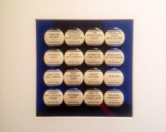 Hats Badges - The Blue Nile