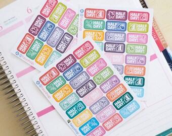 24 Half Day - Sticker Planner