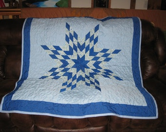 Baby star quilt