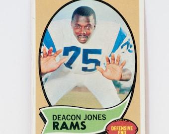 Deacon Jones 1970 Topps #125 Rams Football Card
