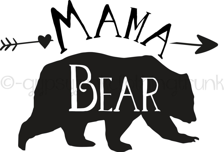 mama bear mama bear decal mama bear car decal mama bear black bear cub clipart free bear cub clipart