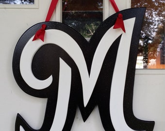 Giant 3D Letter door hang in any letter of your choice