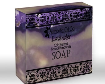 Lavender Traditional cold press handmade soap 80g