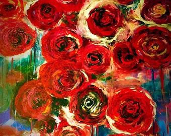 Raining Roses