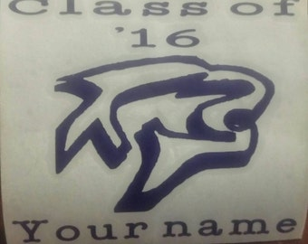 Class of 2016 decals