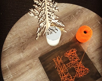 Wooden Custom Initial String Art Baby Nursery/Kids Room Decor