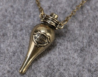 Felix Felicis Necklace Harry Potter Liquid Luck HP-01
