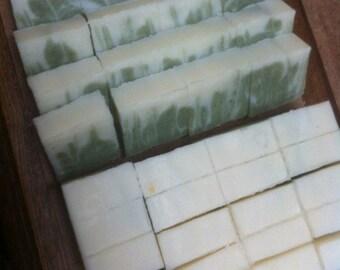 Rosemary and Cedarwood Spirulina Soap