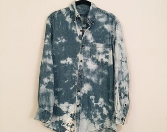 Small Vintage Denim Shirt