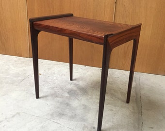 Rosewood small table, mid century