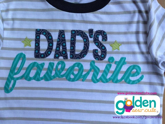 Father's Day Dad's Favorite Tee, Only Child, Funny, Siblings, Dad, Daddy, Father, Papa