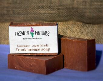 Frankincense Soap Bar - Vegan Friendly, Cold Process
