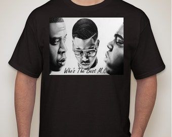 Who's The Best M.C. (Short Sleeve-Black)