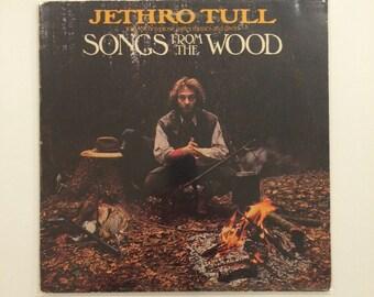 Jethro Tull - Songs From The Woods  vinyl record album LP