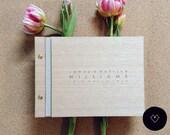 Wedding guest book ideas, unique wedding ideas rustic wedding book alternative guest book wedding book ideas | Medium (A5)