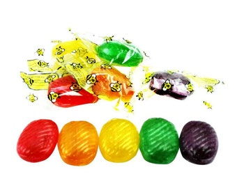 1 Pound Real Honey Candy Sale made with real pure honey and filled with liquid honey