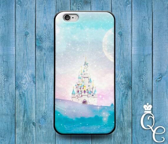 iPhone 4 4s 5 5s 5c SE 6 6s 7 plus + iPod Touch 4th 5th 6th Gen Cute Custom Girly Girl Princess Fantasy Castle Phone Cover Fun Clouds Case