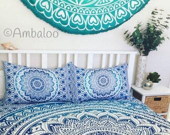 Queen size Mandala doona, duvet, bed spread, bed cover, tapestry, mandala tapestry, Quilt, bedding, sheet, pillowcases, boho, bedroom