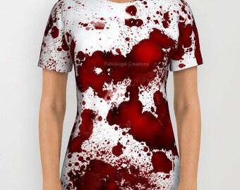 Blood Stains T-Shirt Original Design