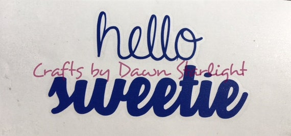 Hello Sweetie decal Doctor Who Planner Decal Bullet Journal Decal