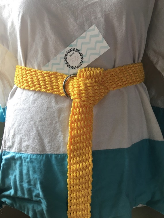 Woven LARP Macrame Belt - Choice of colors