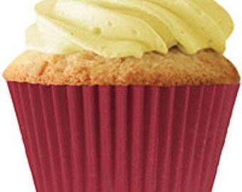 Burgundy Standard Cupcake Liners (30 pcs)