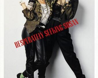 Desperately Seeking Susan Madonna Movie Poster Reproduction Desperatelyseekingsusanposter01