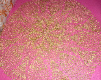 CLOTH CROCHET - GOLD