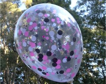 Confetti Balloons - 28cm Mixed Small Circles (Choose Your Confetti Colours!)